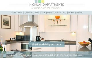 Highland Apartments-PSD to Wordpress